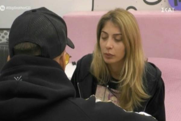 Big Brother: Μετανιωμένη μπροστά στον Χ. Βαρουξή η Σοφία - Η συγγνώμη και η αγκαλιά τους