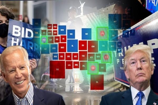 Εκλογές ΗΠΑ 2020: Θρίλερ σε 4 πολιτείες που θα κρίνουν το αποτέλεσμα (Video)