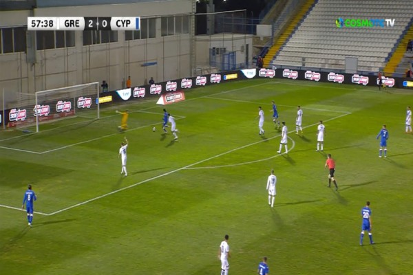 Φιλική νίκη για την Εθνική Ελλάδος με 2-1 την Κύπρο (Video)