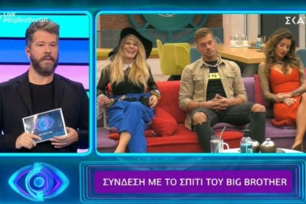 Big Brother: Ανατροπή με την αποχώρηση της εβδομάδας!