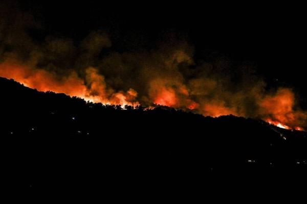 Συναγερμός: Μεγάλη φωτιά στην Αχαΐα