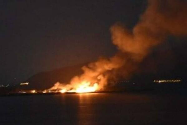 Φωτιά στη Ναύπακτο