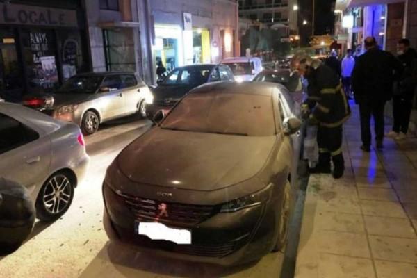 Πάτρα: Έριξαν βόμβα στο αυτοκίνητο του βουλευτή Ιάσωνα Φωτήλα