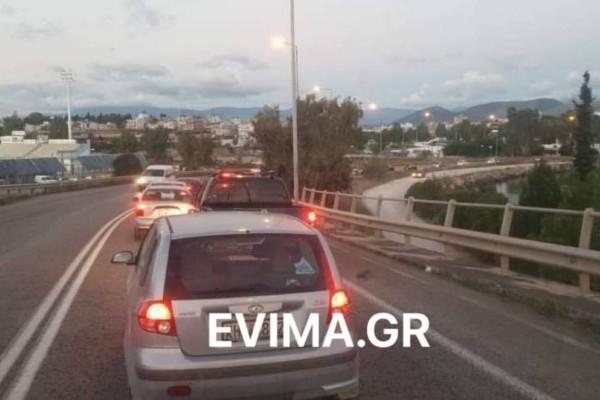 Χάος στην εθνική οδό: Φεύγουν από την Αθήνα πριν από την απαγόρευση κυκλοφορίας