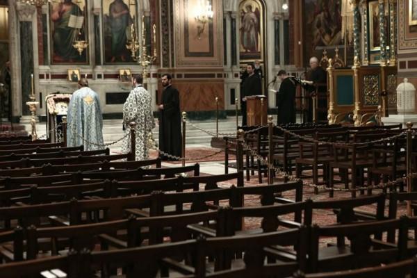 Κορωνοϊός : Τι ισχύει για τις εκκλησίες από το Σάββατο