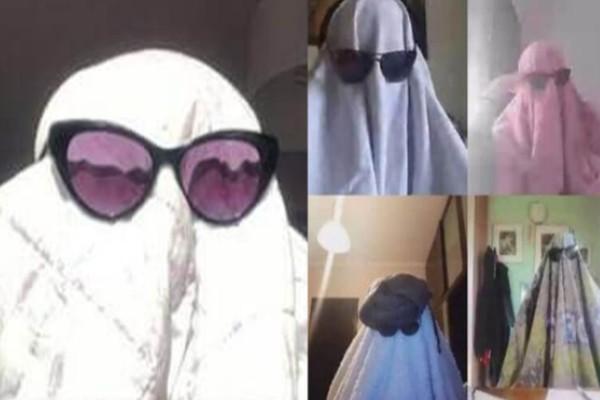 Σέρρες: Μαθητές ντύθηκαν φαντάσματα για να κάνουν μάθημα μέσω διαδικτύου