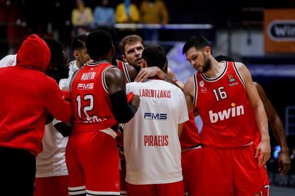 Κρούσμα κορωνοϊού στην ομάδα μπάσκετ του Ολυμπιακού