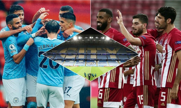 Champions League: Για να γράψει ιστορία στο Μάντσεστερ ο Ολυμπιακός