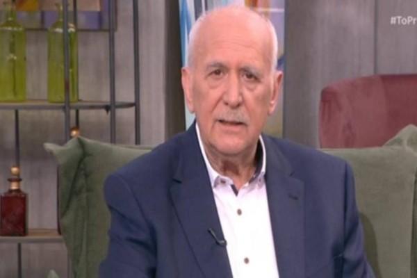«Βυθίστηκε» στη θλίψη ο Γιώργος Παπαδάκης: Ο θάνατος του «γιου» του ακόμη τον «διαλύει»