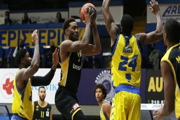 Basket League: Ρουά ματ για την ΑΕΚ