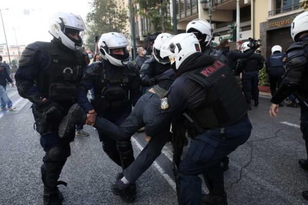 Συμπλοκές σε σταθμό Λαρίσης και Σεπόλια - Πάνω από 100 προσαγωγές σε όλη την Αθήνα