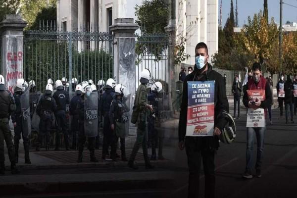 Επέτειος Πολυτεχνείου: Ένταση στο Σκοπευτήριο της Καισαριανής και στον Σταθμό Λαρίσης