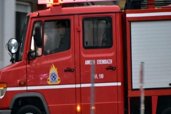 Συναγερμός στην Εύβοια: Φωτιά κοντά σε κατοικημένη περιοχή
