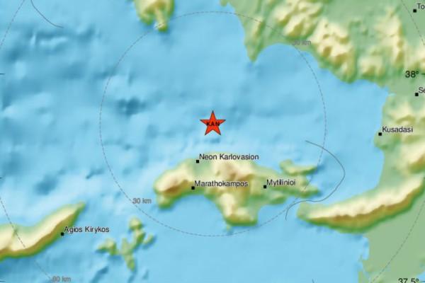 Σεισμός «ταρακούνησε» ξανά τη Σάμο