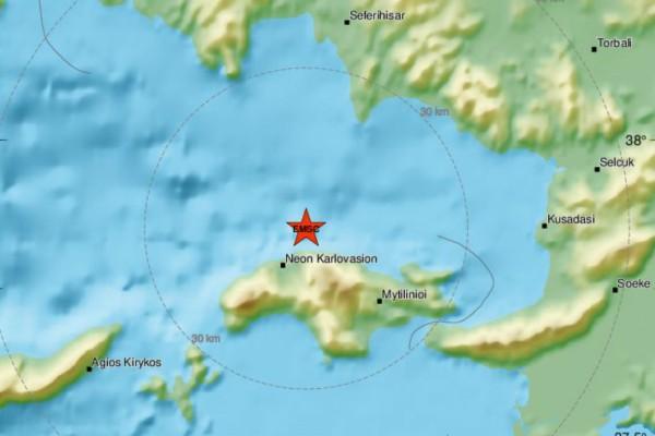 Σεισμός στη Σάμο - Νέος μετασεισμός στο νησί