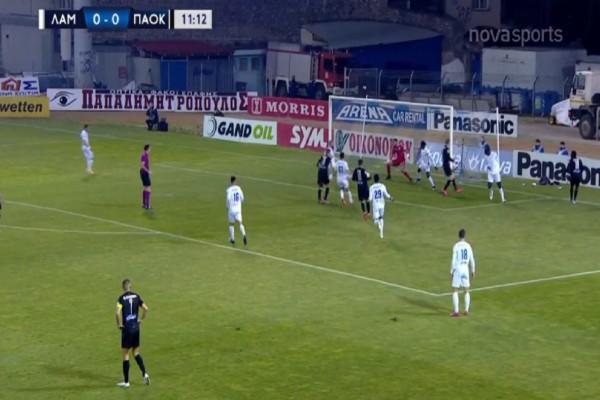 Super League: «Σβηστός» ο ΠΑΟΚ.. κέρδισε Λαμία και... Βιεϊρίνια (Video)