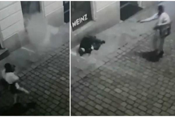Βιέννη: Βίντεο σοκ - Τον εκτελεί εν ψυχρώ στη μέση του δρόμου