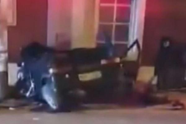 Φριχτό τροχαίο στην Κόρινθο - Νεκρή 23χρονη, σοβαρά τραυματισμένη η 24χρονη οδηγός (Video)