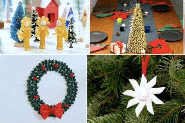 5 εκπληκτικά Χριστουγεννιάτικα διακοσμητικά με ζυμαρικά
