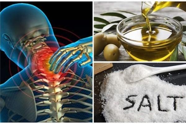 Ανακατέψτε λίγο αλάτι και ελαιόλαδο και δε θα αισθανθείτε πόνο για τα επόμενα 5 χρόνια