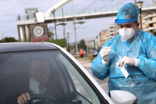 Κορωνοϊός: Τι έδειξαν τα rapid test από το αυτοκίνητο - Που θα πραγματοποιηθούν σήμερα
