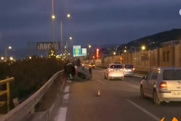 Τροχαίο στη Θεσσαλονίκη: Αυτοκίνητο