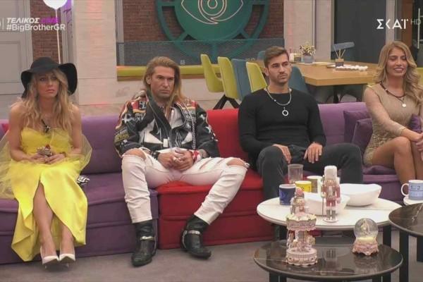 Big Brother: Αυτή είναι η τελευταία αποχώρηση - Συγκίνηση στο σπίτι