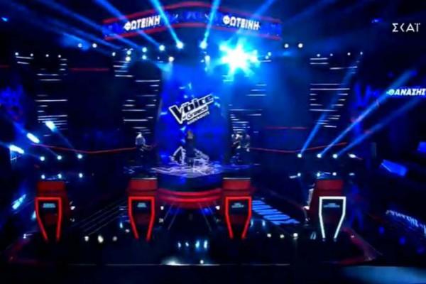 The Voice: Δείτε τα highlights από το χθεσινό 20/12 επεισόδιο