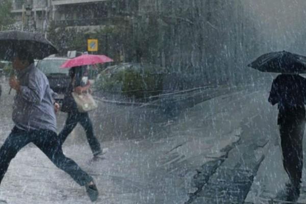 Έκτακτο δελτίο επιδείνωσης καιρού: Ισχυρές βροχές και καταιγίδες - Που θα