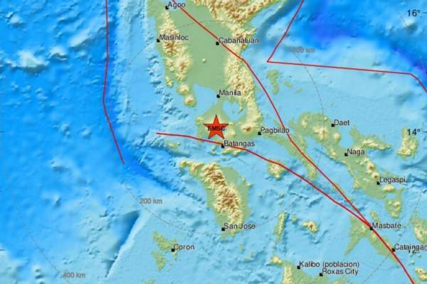 Ισχυρός σεισμός 6,3 Ρίχτερ στις Φιλιππίνες
