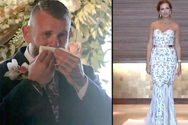 Ο γαμπρός βλέπει τη νύφη να στέκεται ακίνητη - Μόλις την είδε να σηκώνει το χέρι της... (Video)