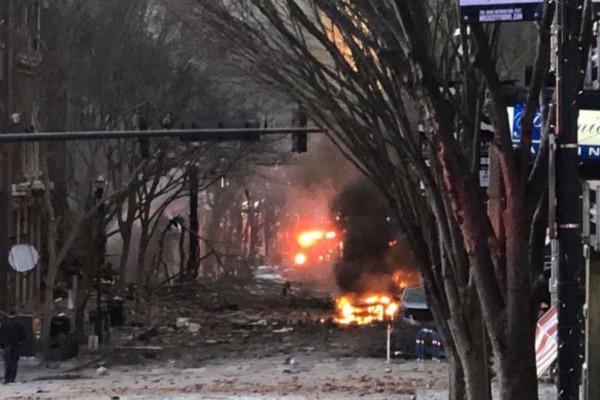 Συναγερμός στις ΗΠΑ: Έκρηξη στην πόλη Νάσβιλ (Video)