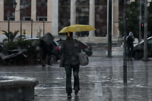 Καιρός σήμερα: Βροχές και κρύο στην χώρα - Ιδιαίτερη προσοχή σε αυτές τις περιοχές