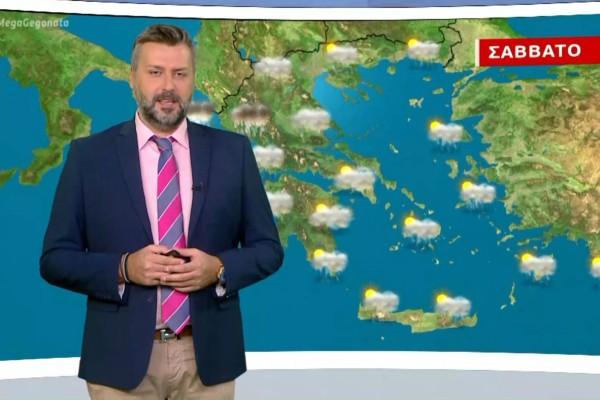 Γιάννης Καλλιάνος: «Ραγδαία επιδείνωση του καιρού - Χιόνια θα πέσουν...» (Video)