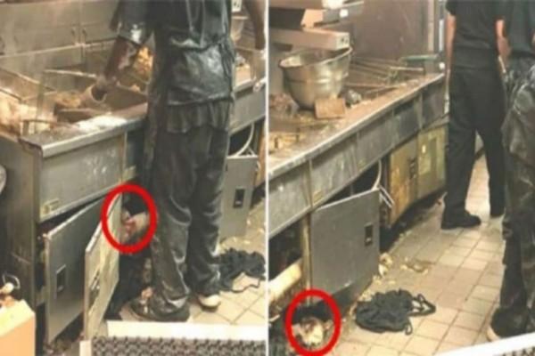 Φρίκη: Έβαλαν κρυφή κάμερα στην κουζίνα γνωστού εστιατορίου - Θα αηδιάσετε με αυτό που θα δείτε