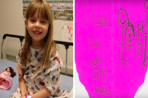 6χρονο κοριτσάκι πέθανε από καρκίνο - Τα κρυφά μηνύματα που βρήκαν οι γονείς της στο δωμάτιό της σοκάρουν (Video)