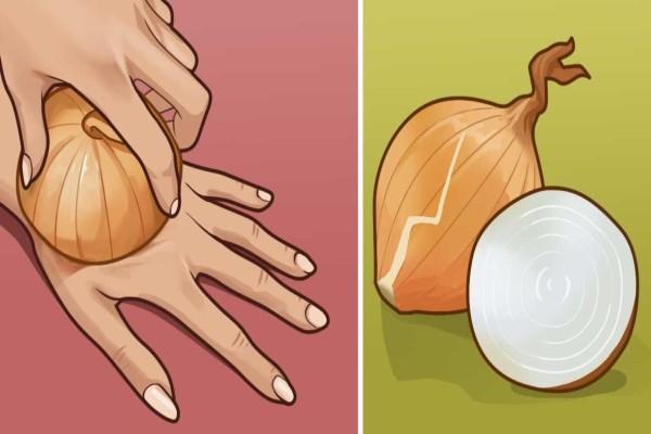 Χειροποίητη θεραπεία με κρεμμύδια - Δείτε που βοηθάει