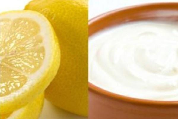 Φυσικό λίφτινγκ με γιαούρτι και λεμόνι - Δείτε πως...