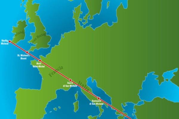 Τα 7 μοναστήρια σε 6 χώρες που ευθυγραμμίζονται απόλυτα πάνω στον χάρτη - Η θεωρία των «γραμμών Ley» με την ενεργειακή δύναμη - Η «ιερή γραμμή» που περνάει και από την Ελλάδα