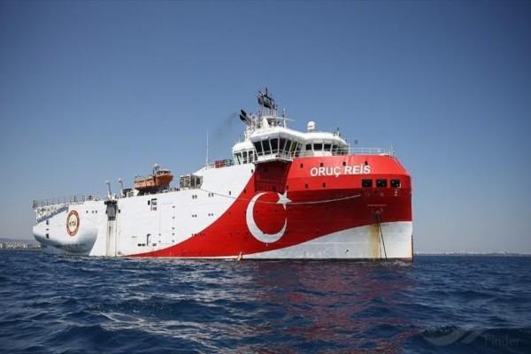 Συναγερμός στο Αιγαίο: Συνεχίζει τις προκλητικές ενέργειες η Τουρκία - Που βρίσκεται το Oruc Reis