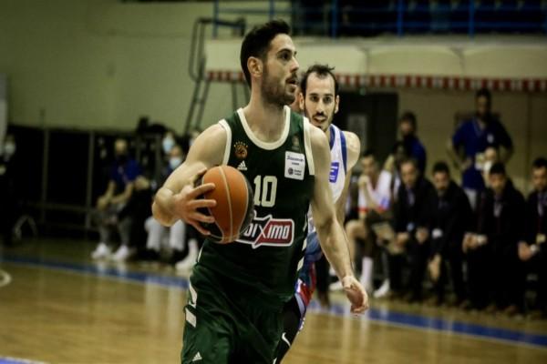 Basket League: Με ιδρώτα ο Παναθηναϊκός
