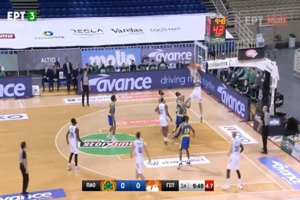 Basket League: Ξέσπασμα Παναθηναϊκού στο Περιστέρι (Video)