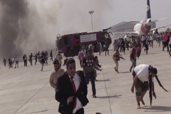 Υεμένη: Βομβιστική επίθεση στο αεροδρόμιο Άντεν - Τουλάχιστον δέκα νεκροί (Video)