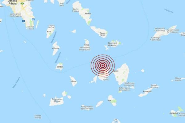 Σεισμός: «Διπλό» χτύπημα του Εγκέλαδου σε Σύρο και Πάρο