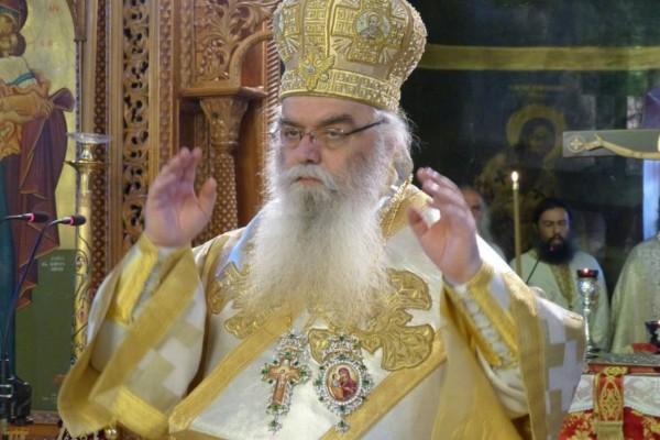 Κορωνοϊός: Στη ΜΕΘ ο Μητροπολίτης Καστοριάς Σεραφείμ