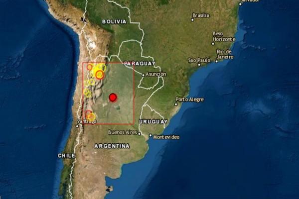 Ισχυρός σεισμός 5 Ρίχτερ στην Αργεντινή