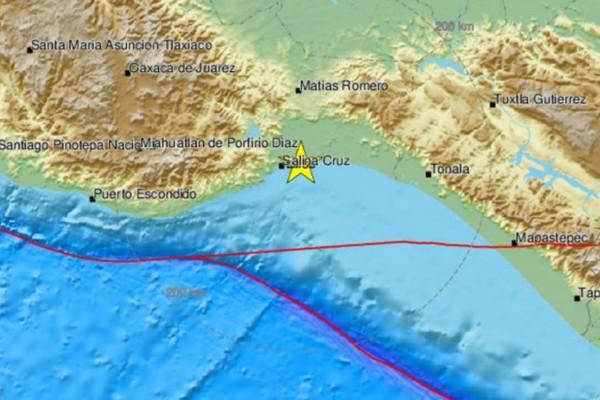 Ισχυρός σεισμός 5,4 Ρίχτερ στο Μεξικό