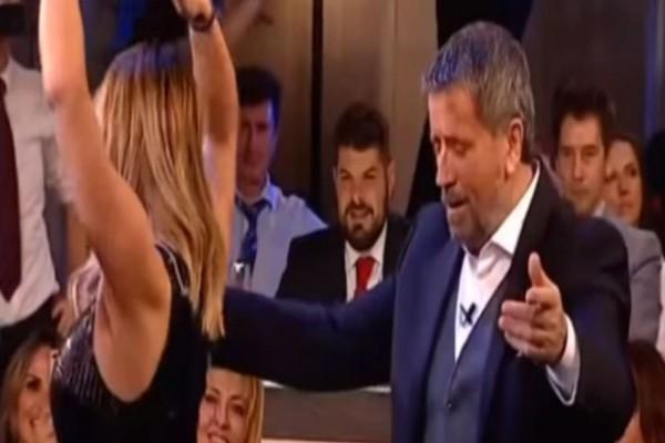 Το αμαρτωλό τσιφτετέλι πασίγνωστης τραγουδίστριας στην αγκαλιά του Σπύρου Παπαδόπουλου που «γκρέμισε» το διαδίκτυο!