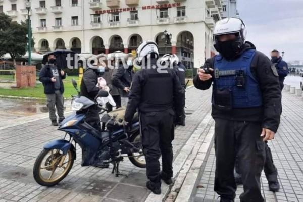 Επέτειος Γρηγορόπουλου: Συνεχίζονται οι προσαγωγές στη Θεσσαλονίκη