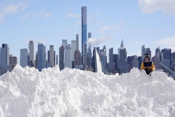 HΠΑ: Ισχυρή χιονοθύελλα